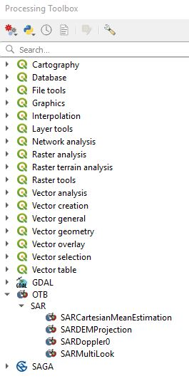 Setting up OTB in QGIS (tools not showing) - Usage - Orfeo